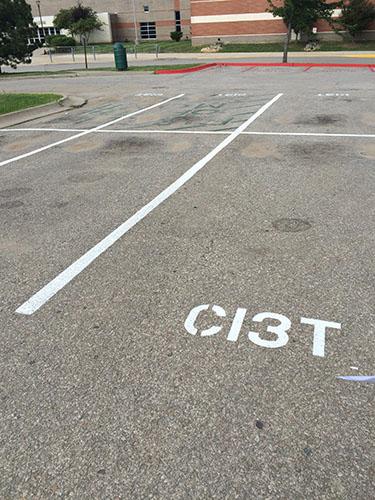 Ci3T Parking Spots