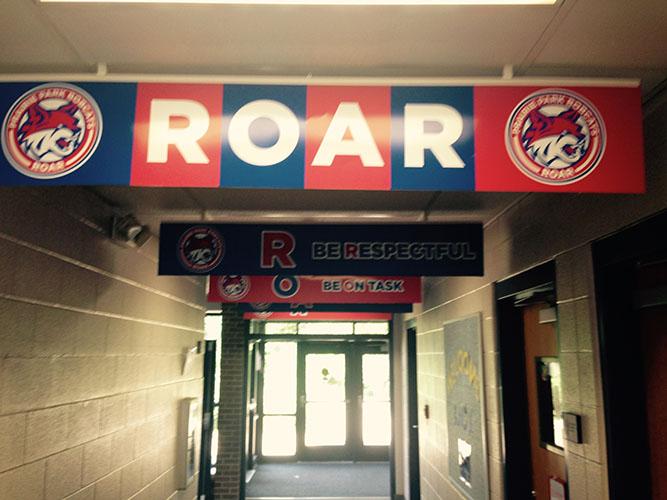 ROAR Sign