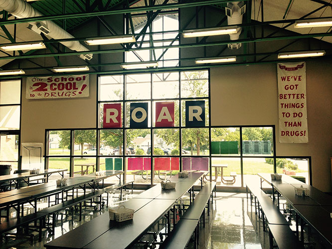 ROAR in the Cafeteria