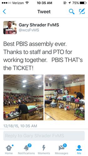 PBIS Tweet