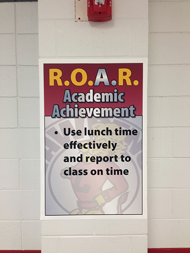 Roar Academic Achievement Examples