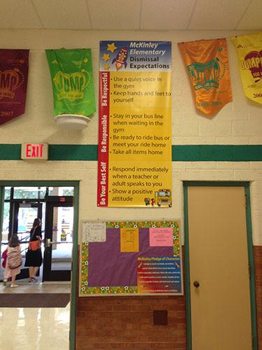 McKinley Elementary Dismissal Expectations